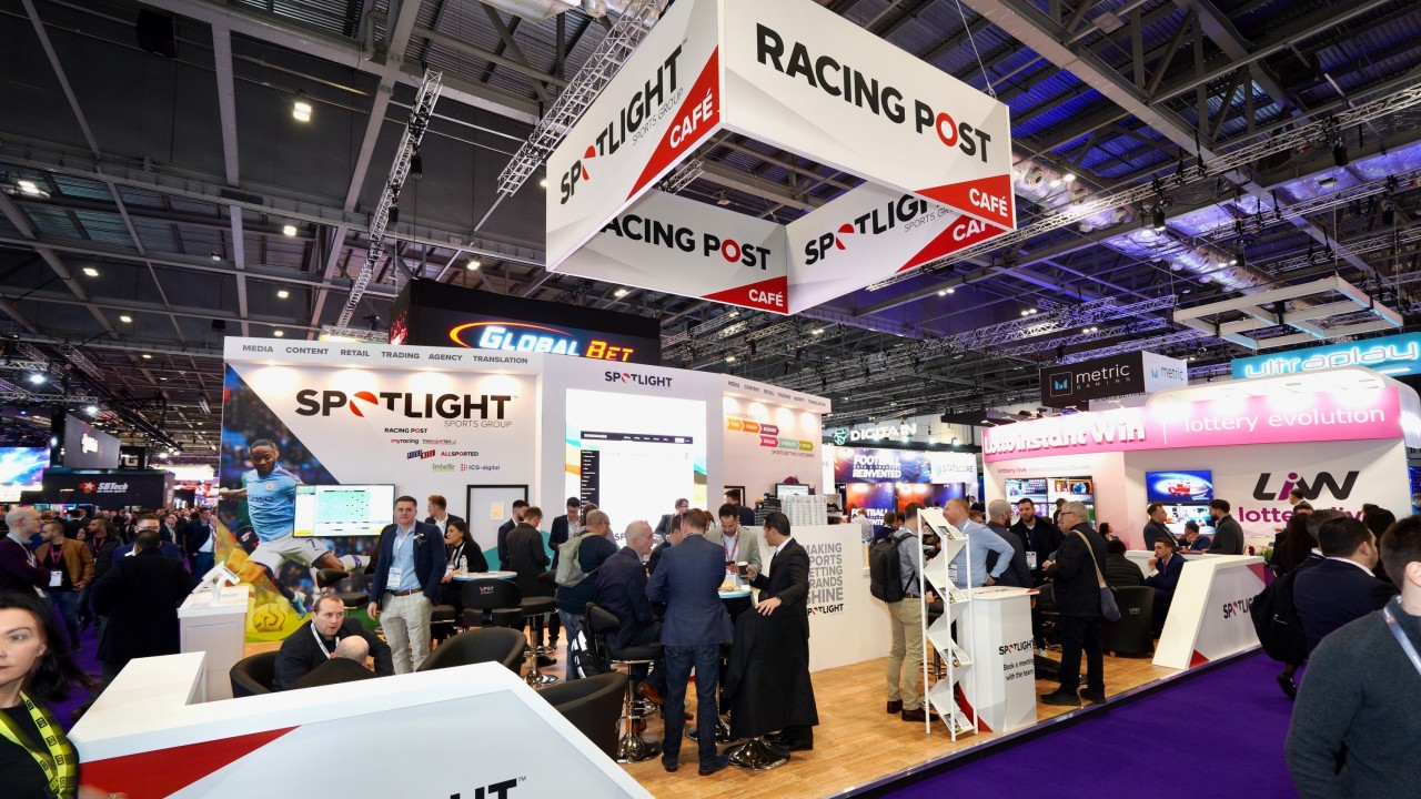 racing post betting shop display stand