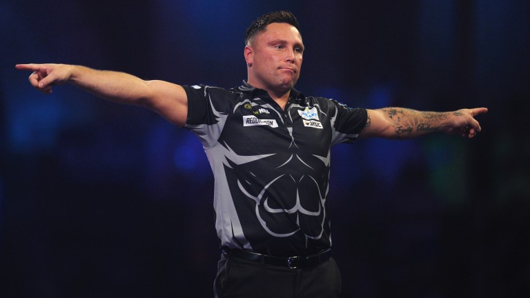 Gerwyn Price is in action on Friday night at the Ricoh Arena