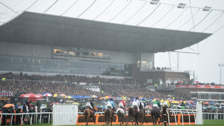 Kempton: spectators will not be allowed to attend the track's Christmas fixtures