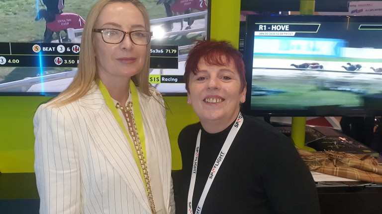 Sandra Gilmartin (right) with Rachel O & # 39; Reilly, SIS account manager