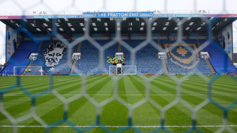 Portsmouth's Fratton Park stadium