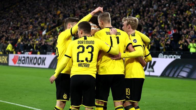 Borussia Dortmund could be celebrating against Bayer Leverkusen