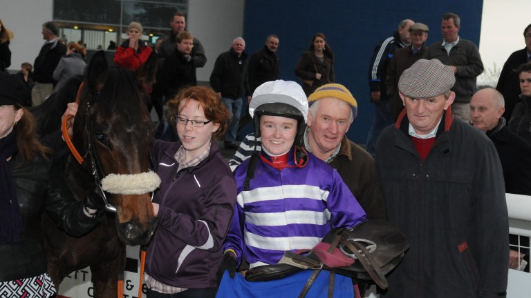 Billy Mangan (right) is the modest breeder of two very bright prospects
