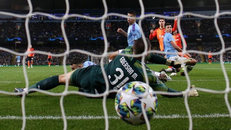 Shakhtar Donetsk net a Champions League goal against Manchester City