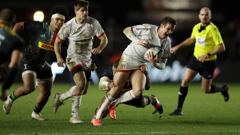 Billy Burns of Ulster in action