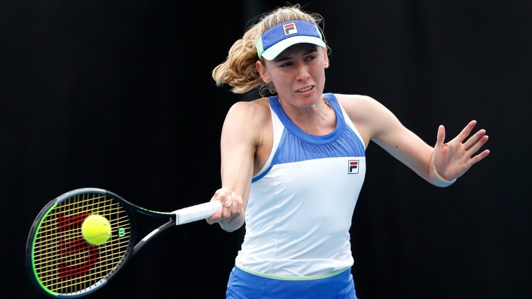 Ekaterina Alexandrova has started to believe in herself a lot more in recent months