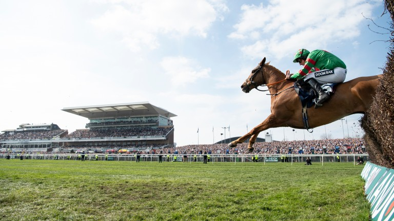 The Grand National meeting at Aintree is in doubt due to coronavirus