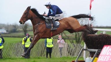 Danjaman runs out an easy winner of the confined hunt winners' race at Farmaclaffley