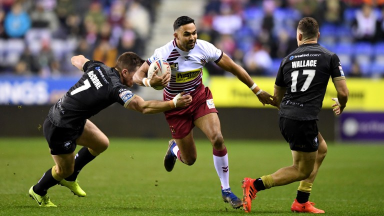 Bevan French has been in good form for Wigan