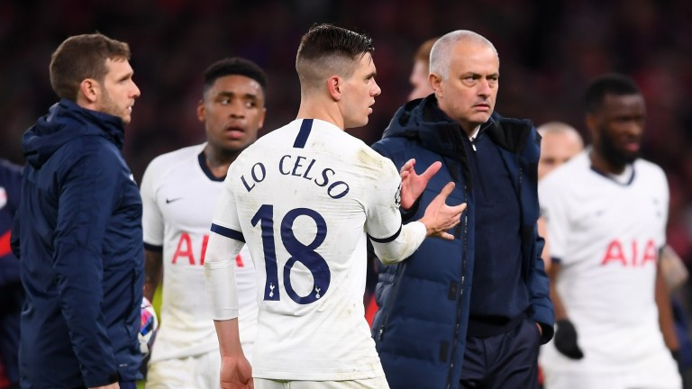 Jose Mourinho has his hands full as manager of Tottenham Hotspur