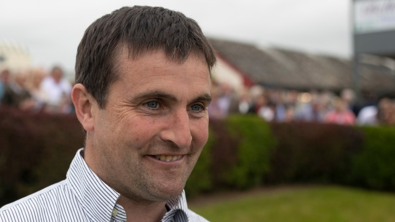 Aidan Fogarty: trainer of Dundalk winner She's A Babe, who was disqualified on Thursday