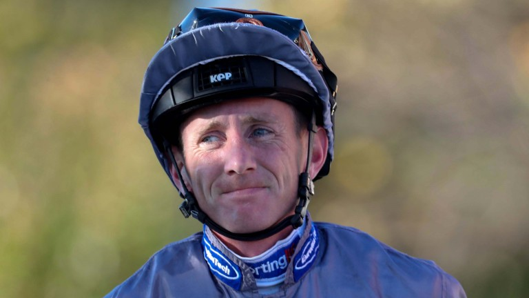 """Senior jockey Paul Hanagan: """"We could all see the crane and how far they'd fallen from it"""""""