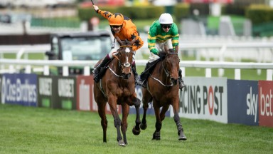 Put The Kettle On (Aidan Coleman) wins the Racing Post ArkleCheltenham 10.3.20 Pic: Edward Whitaker