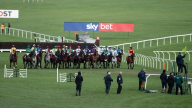 Standing starts were the order of the day at Cheltenham on Tuesday