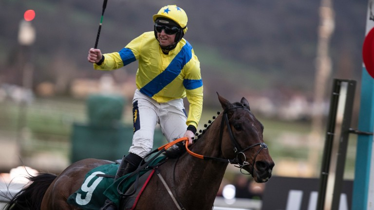 Ravenhill and Jamie Codd triumph in the National Hunt Chase at Cheltenham
