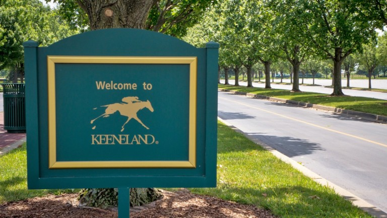 Welcome to Keeneland: but only if you're free of coronavirus