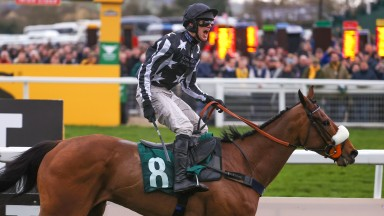 David Bass, victorious on Imperial Aura at Cheltenham on Tuesday, struck at Huntingdon for Kim Bailey