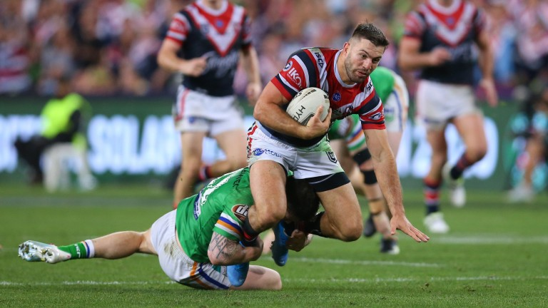 Sydney's James Tedesco led the NRL in metres made and line breaks last season
