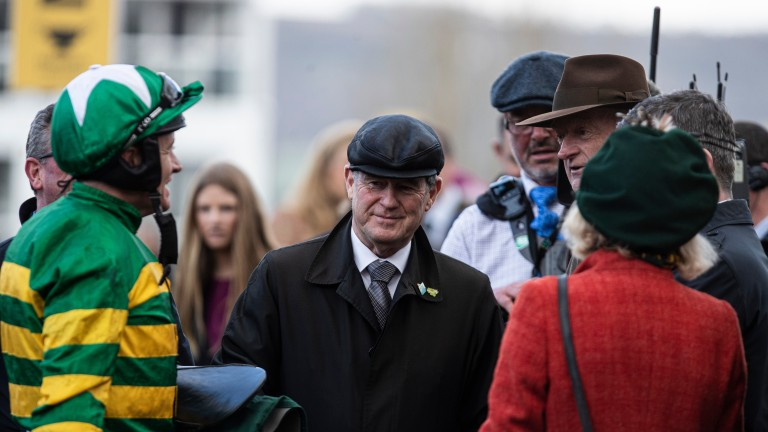 JP McManus: enjoyed his seventh win at this year's festival in the County Hurdle