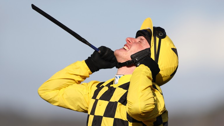 Paul Townend celebrates his Gold Cup double on Al Boum Photo. Can they make it three?