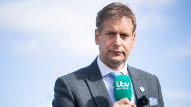 Ed Chamberlin: fronted ITV Racing's coverage of the Cheltenham Festival