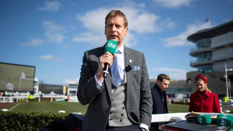 Ed Chamberlin: will lead ITV's biggest ever coverage of the Cheltenham Festival this year