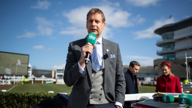 Ed Chamberlin and the ITV team are back on terrestrial television for the first time since Uttoxeter in mid-March