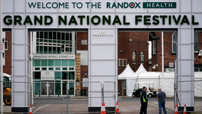 Aintree: was unable to stage this year's Grand National due to the coronavirus