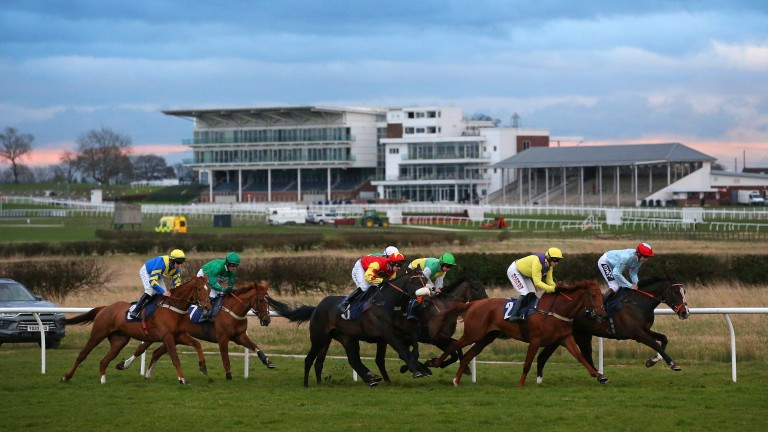 The last race before the shutdown takes place at Wetherby on Tuesday