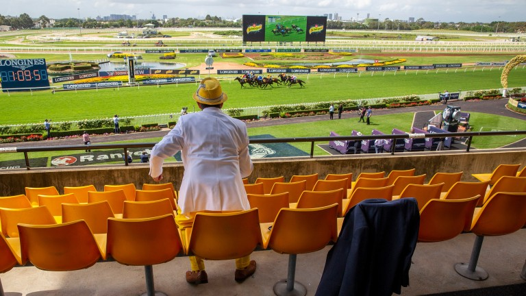Rosehill's Group 1 action will again take place with a minimal raccourse audience