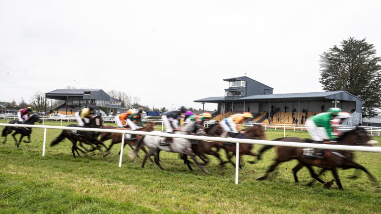 Thurles: ITV Racing followed the action from an off-course studio
