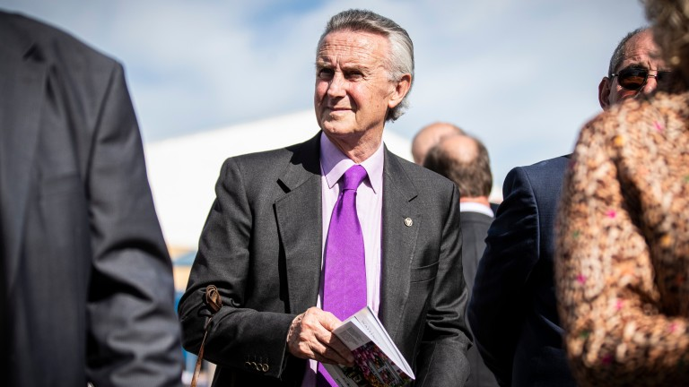 Jim Bolger: believes Irish racing is not a level playing field