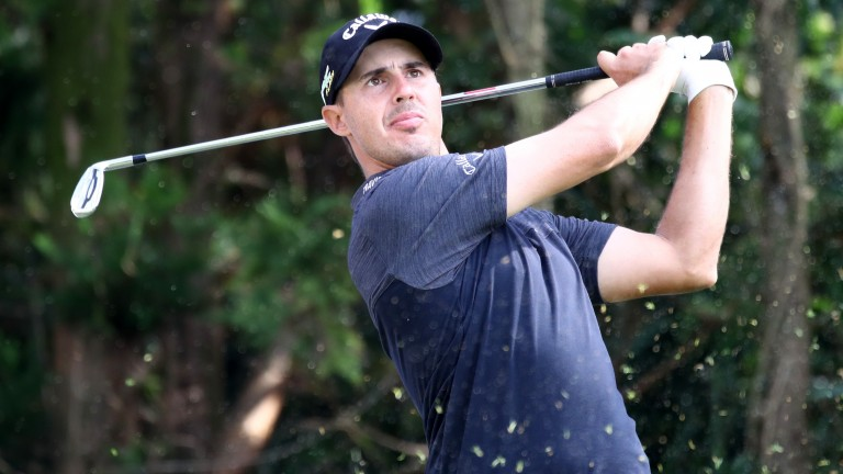 Chase Koepka fired a first-round 60 on the Minor League Tour last month