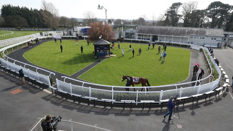 Racing has been held behind closed doors in Ireland