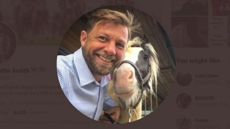 Newmarket trainer Martin Smith's Twitter profile