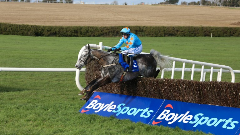 Bachasson jumps the last en route to an impressive success at Clonmel