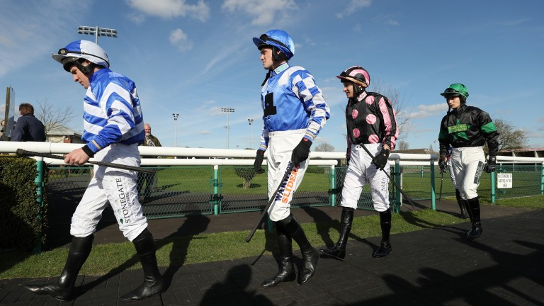 Jockeys: among the estimated five million who are self-employed in Britain
