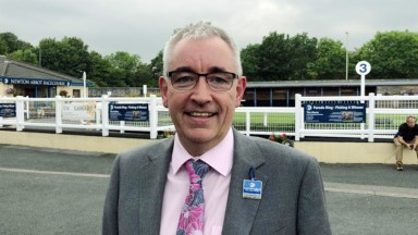 patrick masterson. Newton Abbot racecourse manager