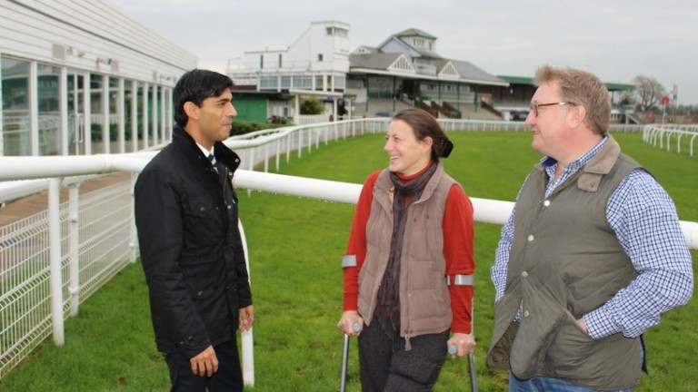 Chancellor Rishi Sunak will be key to whether racing's hopes for direct financial support and levy reform can be fully met