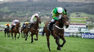 Epatante (Barry Geraghty) wins the Champion HurdleCheltenham 10.3.20 Pic: Edward Whitaker