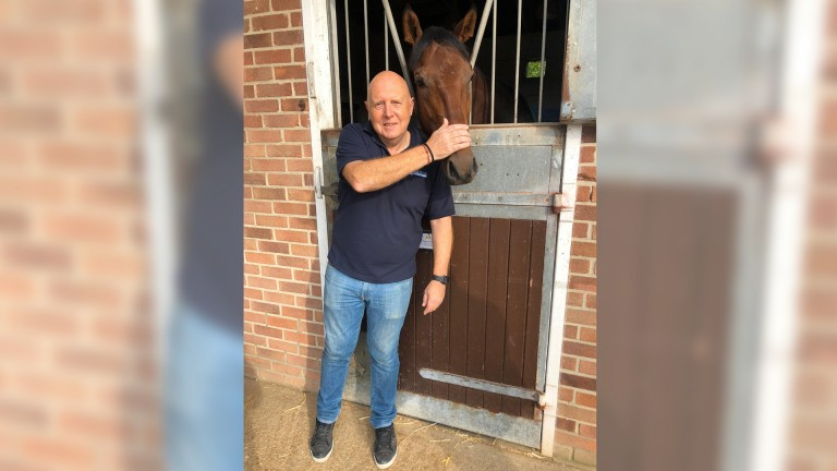 Paul Townend with Surrey Pride, trained by Joe Tuite