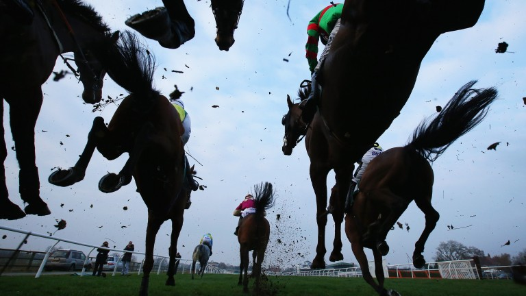 Jump racing: suspended in Britain until July 1