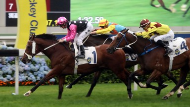 Beauty Generation scores a repeat win in the Chairman's Trophy at Sha Tin