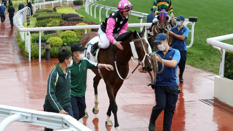 Zac Purton returns on Beauty Generation after success in the Chairman's Trophy at Sha Tin