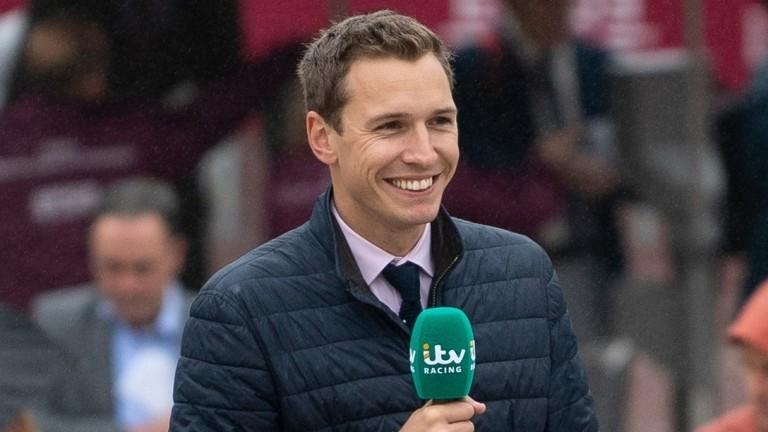 Oli Bell: presenter on ITV Racing