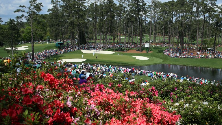 Each hole at Augusta National is named after a flower that lines the course