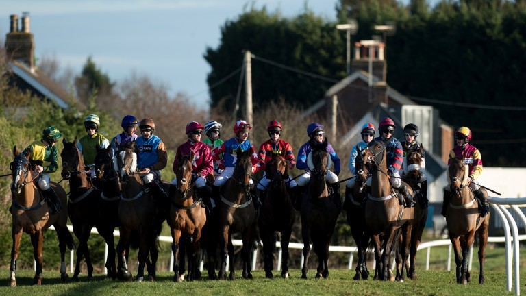 Amateur jockeys: banned from riding under new restrictions