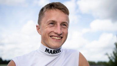Tom Marquand: snared an unlikely 66-1 success at Kempton