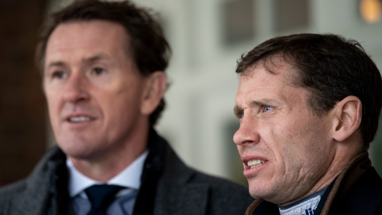 Richard Johnson: proud of his long-standing rivalry with Sir Anthony McCoy