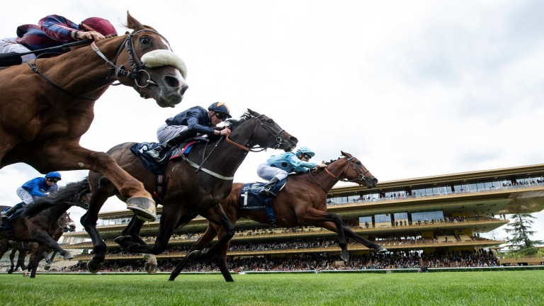 Longchamp: was due to race again on Thursday